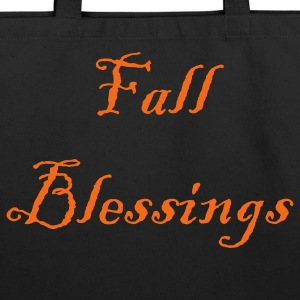 fall_blessings Bags  - Eco-Friendly Cotton Tote