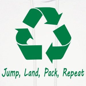 Jump Land Pack Repeat Hoodies - Men's Hoodie