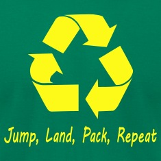 Jump Land Pack Repeat T-Shirts