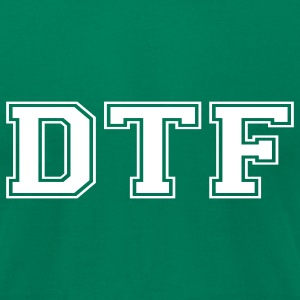 DTF T-Shirts - Men's T-Shirt by American Apparel