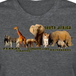 South African Wildlife Collage - Women's T-Shirt