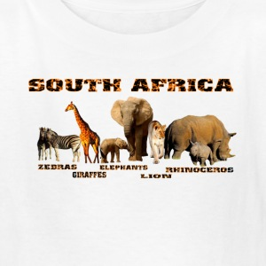 African Wildlife Collage - Kids' T-Shirt