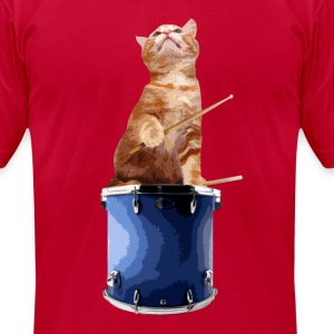 Drumkitten Color Shirt - Men's T-Shirt by American Apparel