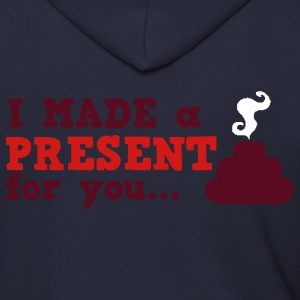 I made a present for you i hate christmas Zip Hoodies/Jackets - Men's Zip Hoodie