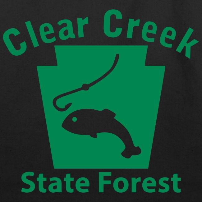 Clear Creek State Forest Keystone Fish
