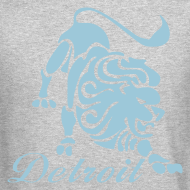 Design ~ Lions Vintage Men's Crewneck Sweatshirt