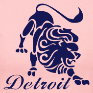 Design ~ Lions Vintage Women's Long Sleeve Jersey Tee