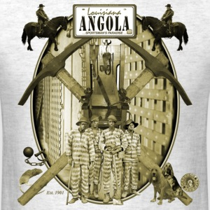 Angola - Louisiana State Penitentiary - Men's T-Shirt