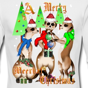 A Meerkat Christmas - Men's Long Sleeve T-Shirt by Next Level