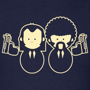 Pulp Fiction Vince & Jules Cartoons T-Shirts - Men's T-Shirt