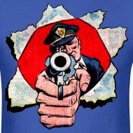 Design ~ Cop With Gun