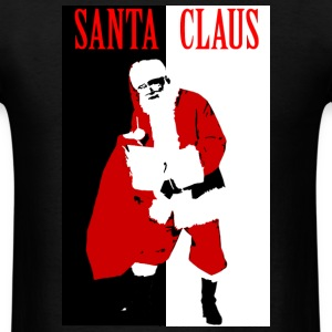 Santa Gangster - Men's T-Shirt