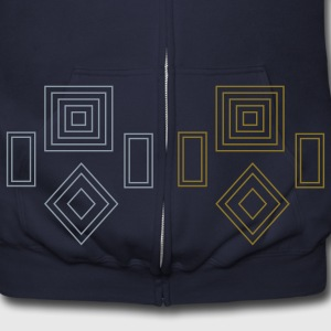 odd_shapes Zip Hoodies/Jackets - Men's Zip Hoodie