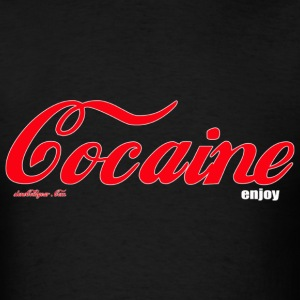 cocaine T-Shirts - Men's T-Shirt