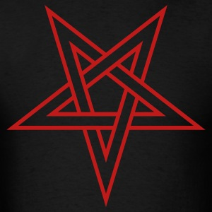 Pentagram ( Vector Graphic ) - Men's T-Shirt