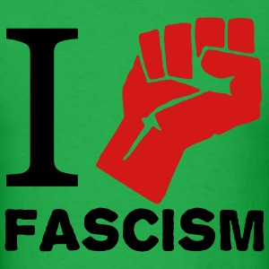 i fight fascism T-Shirts - Men's T-Shirt
