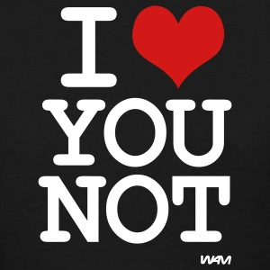 i love you not by wam T-shirts (manches courtes) - T-shirt pour femmes