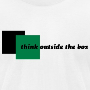 Think Outside the Box Tee - Men's T-Shirt by American Apparel