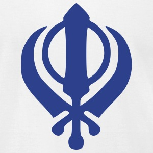 Sikh khanda T-Shirts - Men's T-Shirt by American Apparel