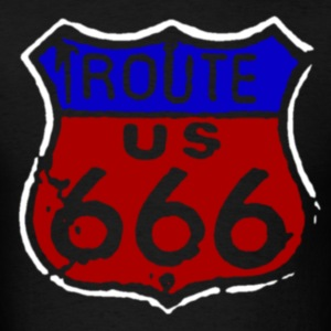 Route 666 T-Shirts - Men's T-Shirt