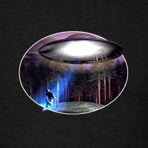 UFO Abduction - Men's T-Shirt