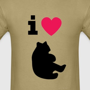 i love bears - standard shirt men - Men's T-Shirt