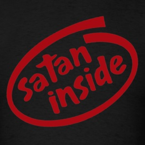 Satan Inside - Men's T-Shirt