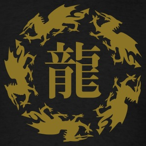 Dragon Zodiac Sign - Men's T-Shirt