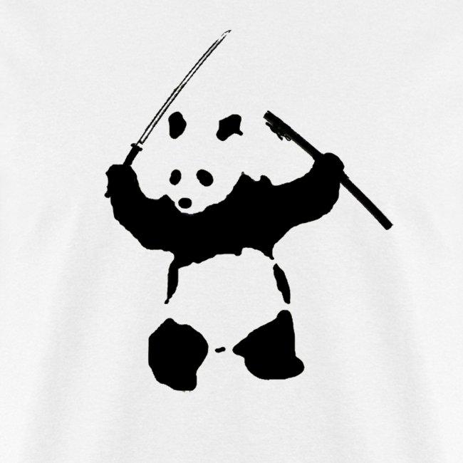 Katana Wielding Panda Shirt
