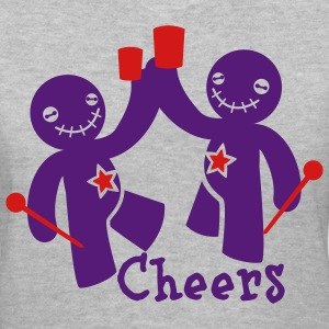 voodoo children cheers beer Women's T-Shirts - Women's V-Neck T-Shirt