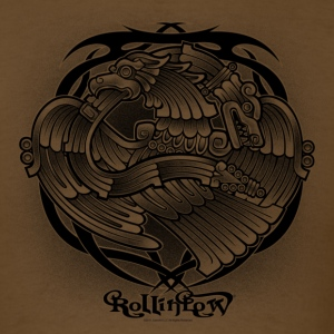 Tattoo Eagle by RollinLow T-Shirts - Men's T-Shirt