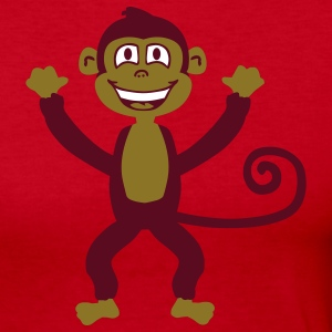 Monkey Long Sleeve Shirts - Women's Long Sleeve Jersey T-Shirt