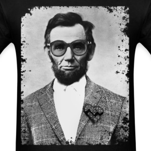 Abe West Lincoln - Men's T-Shirt