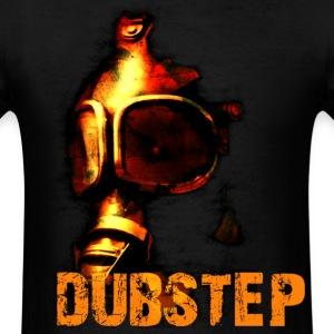 Dubstep Orange Gas Mask - Men's T-Shirt