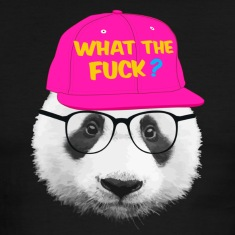panda what the fuck ? T-shirts (manches courtes)