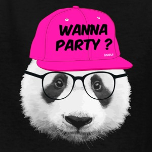 panda wanna party Kids' Shirts - Kids' T-Shirt
