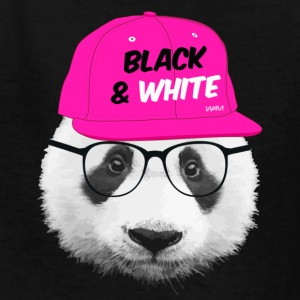 panda black and white Kids' Shirts - Kids' T-Shirt