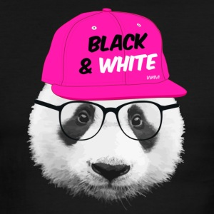 panda black and white T-Shirts - Men's Ringer T-Shirt