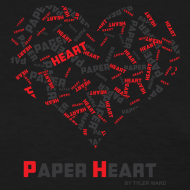 Design ~ Paper Heart Fan T-Shirt
