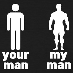 your man vs my man Women's T-Shirts