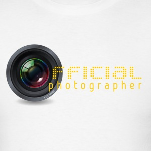 Canon Nikon Official photographer - Men's T-Shirt