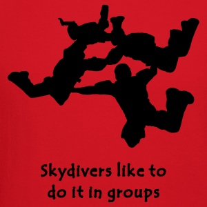 Skydivers Like To Do It In Groups - Crewneck Sweatshirt