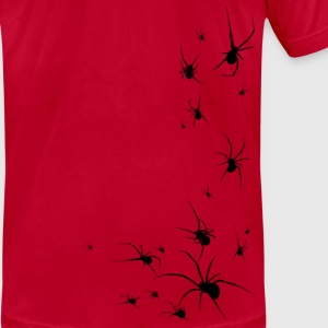 SPIDERS!: Widows Black Beta - Men's T-Shirt by American Apparel