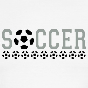 soccer T-Shirts - Men's Ringer T-Shirt
