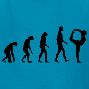 evolution yoga Kids' Shirts - Kids' T-Shirt