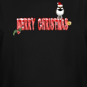 Merry Christmas Sparrow - Men's Tall T-Shirt