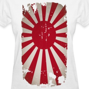 Decayed Rising sun - Women's T-Shirt