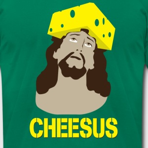 Cheesus [M] - Men's T-Shirt by American Apparel
