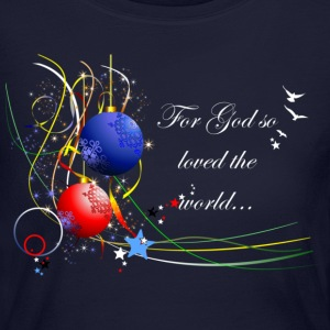 For God so Loved the World Long Sleeve Shirts - Women's Long Sleeve Jersey T-Shirt