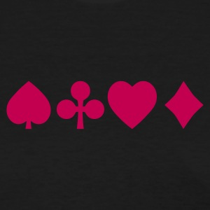 Spades diamond cross heart - card deck Women's T-Shirts - Women's T-Shirt